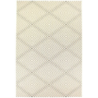 Dynamic Rugs Veranda Cream Indoor/Outdoor Area Rug; 6'7'' x 9'6''