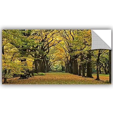 ArtWall Richard James The Mall in Autumn Wall Mural; 12'' H x 24'' W
