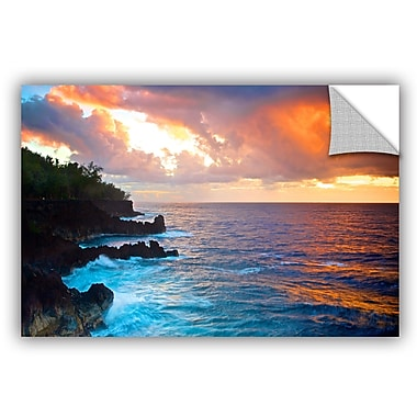 ArtWall Doug Nelson Hawaiian Sunrise Wall Mural; 24'' H x 36'' W