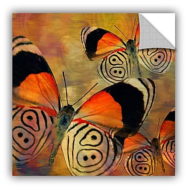 ArtWall Melinda Bradshaw Butterflies III Wall Mural; 36'' H x 36'' W
