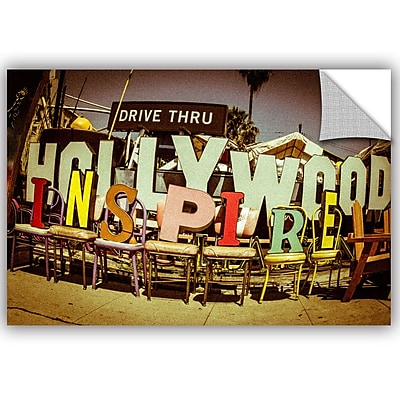 ArtWall Richard James Hollywood Inspire Wall Mural; 24'' H x 36'' W