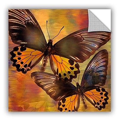 ArtWall Melinda Bradshaw Butterflies Wall Mural; 18'' H x 18'' W