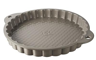 Revol Les Naturels Non-Stick Tart Dish; Sesam-gray