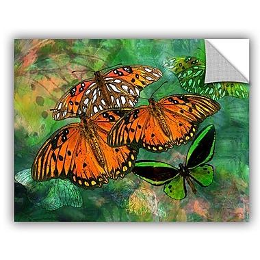 ArtWall Melinda Bradshaw Butterfly Fantasy II Wall Mural; 18'' H x 24'' W