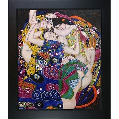 Tori Home The Virgin by Gustav Klimt Framed Painting
