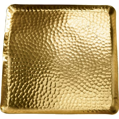 Kindwer Gilded Square Hammered Tray