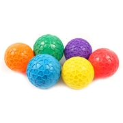"""360 Athletics Easy Grip Ball Set, 3 1/2"""", multicolor, Set of 6 (AHLPGRIP3S)"""