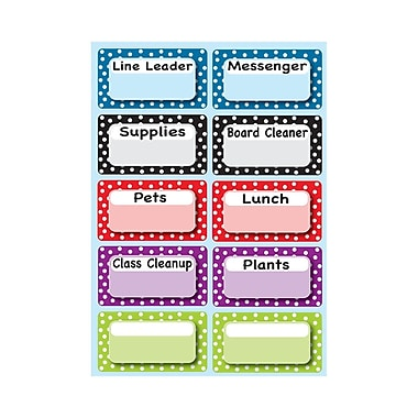 Ashley® Magnetic Time Organizers, Classroom Jobs (ASH10092)