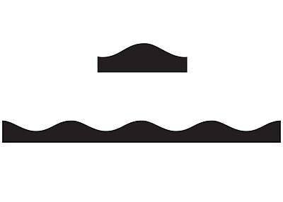 Ashley Productions Big Magnetic Border, Black (24 x 2.5)
