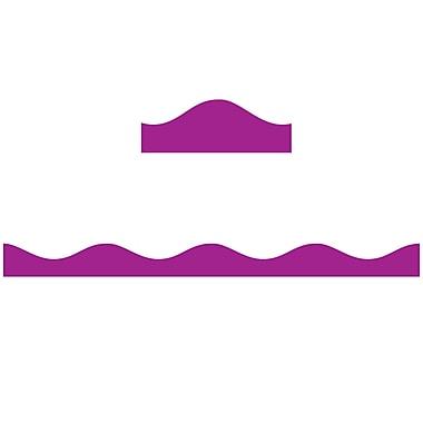 Ashley® 12' Solid Colour Big Magnetic Border, Purple, 6/Pack (ASH11110)