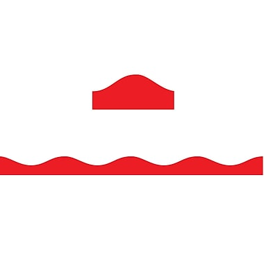 Ashley Productions Big Magnetic Border, Red (24 x 2.5)