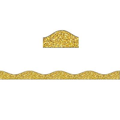Ashley Productions Big Magnetic Border, Gold Sparkle (24 x 2.5)