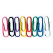Baumgartens Inc. Vinyl-Coated Paper Clips, No. 1 Size, 10 packs of 100 (BAUMES5000)