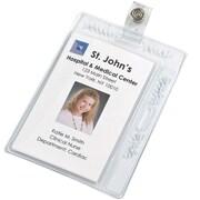 Bonitas BooJee ID Pocket, Clear, 12/Pack (BON100712)