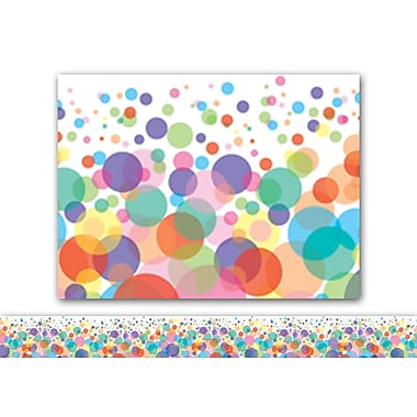 Carson-Dellosa Bubbles Straight Borders, 12/Pack (CD-108119)