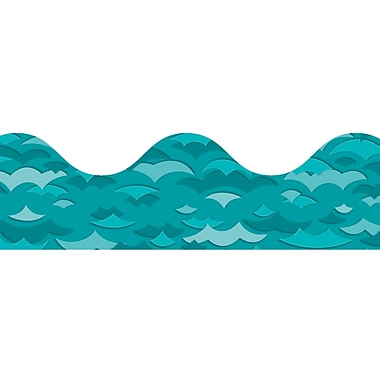 Carson-Dellosa Waves Scalloped Borders , 13/Pack (CD-108134)