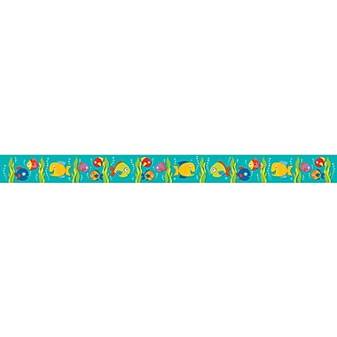 Carson-Dellosa Seaside Splash Straight Borders, 12/Pack (CD-108180)
