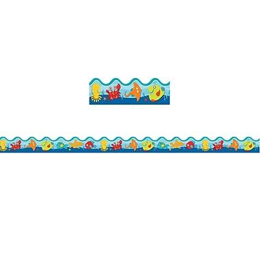 Carson-Dellosa Seaside Splash Scalloped Borders (36 x 2.25)