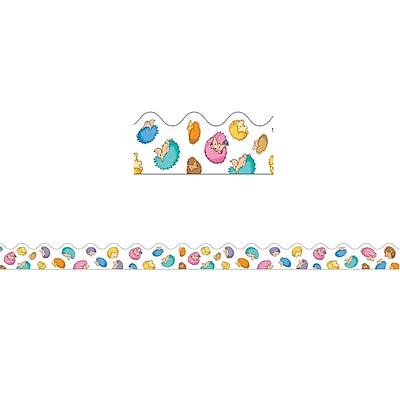 Carson-Dellosa Happy Hedgehogs Scalloped Borders (36 x 2.25)