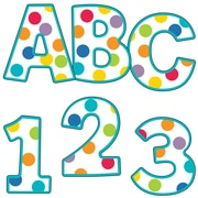 Carson-Dellosa Color Me Bright EZ Letters, 152 Pieces (CD-130054)