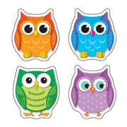 Colorful Owls Shape Stickers, Pack of 72 (CD-168078)