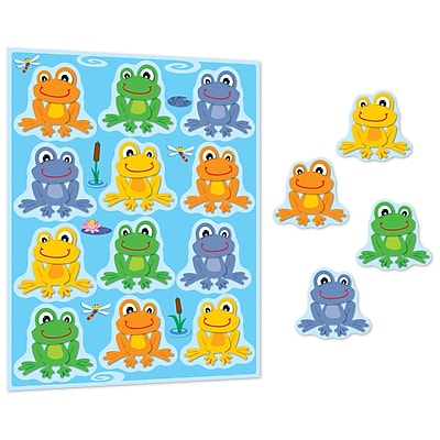FUNky Frogs Shape Stickers, Pack of 96 (CD-168122)