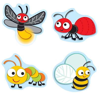 Buggy for Bugs Shape Stickers, Pack of 72 (CD-168148)