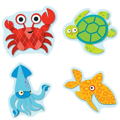 Seaside Splash Shape Stickers, Pack of 84 (CD-168151)