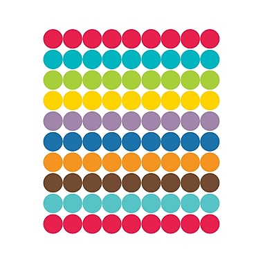 Color Me Bright Chart Seals, Pack of 810 (CD-168153)