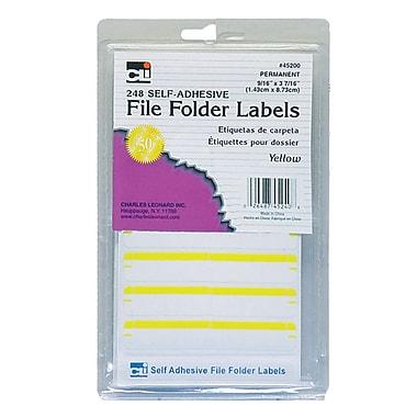 Charles Leonard File Folder Labels, 1488 Labels/Pack