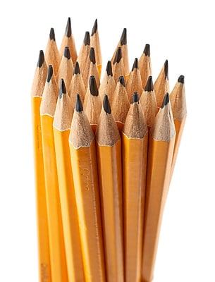 Charles Leonard Pre-Sharpened Pencils, No. 2, 12 packs of 12 (CHL65512)