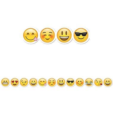 Creative Teaching Press – Bordure à motifs d'emojis de 35 pi, 12/paquet (CTP0193)