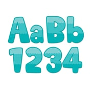 """Creative Teaching Press Painted Palette Ombre Turquoise Maze 4"""" Designer Letters (CTP0284)"""