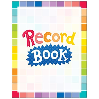 Creative Teaching Press Painted Palette Record Book (CTP1404)
