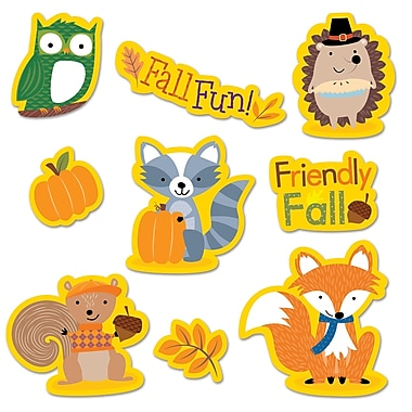 Fall Woodland Friends Stickers, Pack of 50 (CTP4044)