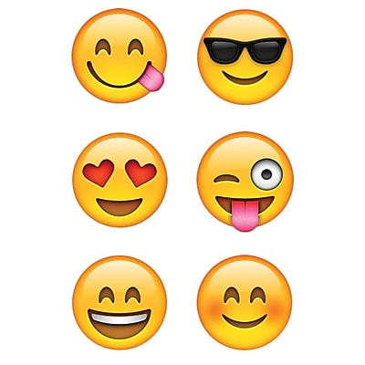 Emojis Hot Spot Stickers, Pack of 880 (CTP7137)