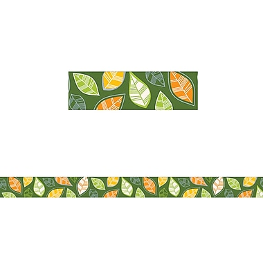 Creative Teaching Press Woodland Friends Autumn Leaves Border, 12/Pack (CTP8390)