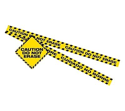 Dowling Magnet Caution DO NOT ERASE Magnet Set, 2 sets (DO-735208)