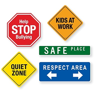 Dowling Magnet School Signs Magnet Set, 15/Set (DO-735210)