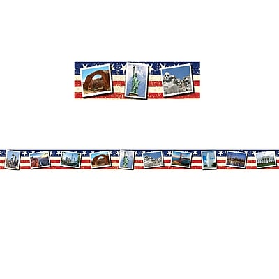 Edupress U.S. Landmarks Postcards Spotlight Border (39 x 3)