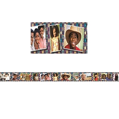 Edupress Multicultural Kids Postcards Photo Border, 12/Pack (EP-3290)