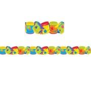 Eureka Color My World Paint Buckets Deco Trim (37.25 x 3.25)