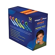 Harebrain WhisperPhone Language Skills Variety Pack, Ages 4-9 (HB-WPEVP12)