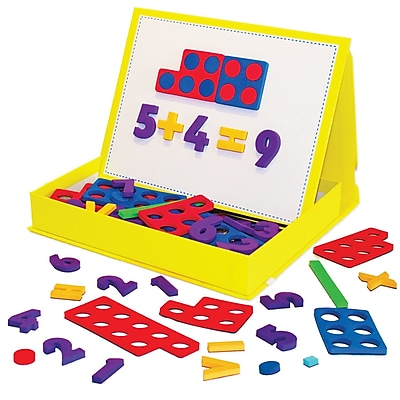 Rainbow Numbers Magnetic Numbers for grades K-2, 1 set of 155 pieces (JRL195)