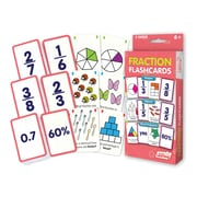 Fraction Flash Cards for grades 2-6, 1 pack of 162 cards (JRL212)