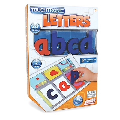 Junior Learning Touchtronic® Letters, Blue & Red (JRL300)