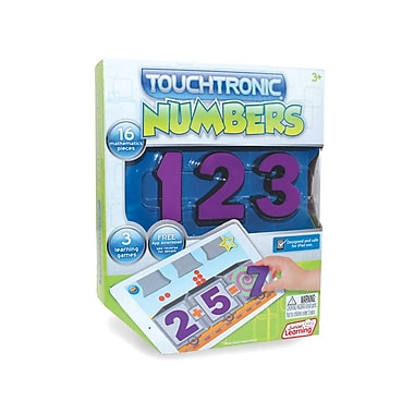 Junior Learning Touchtronic® Numbers, Purple (JRL302)