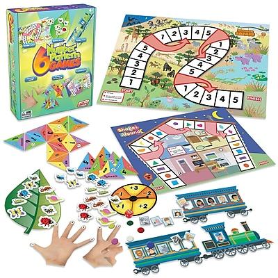 6 Number Pattern Games for grades K-2 (JRL402)