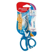 Maped USA Zenoa Fit Scissors, Pointed Tip, Assorted Colors, 12 packs of 1 (MAP670120)