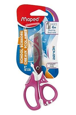 Maped USA Zenoa Fit Scissors, Blunt Tip, 5